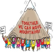 Together We Can Move Mountains!